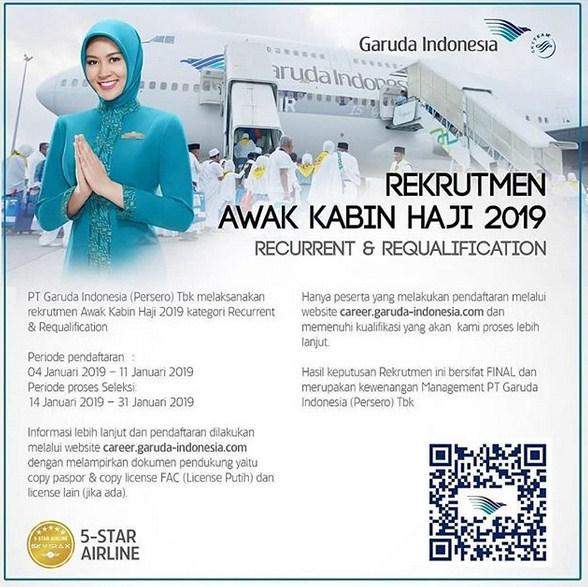 Rekrutmen Awak Kabin Haji