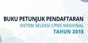 Petunjuk Pendaftaran CPNS 2018