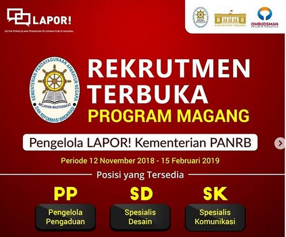 Program Magang SP4N-LAPOR