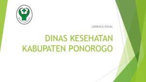 Dinas Kesehatan Ponorogo