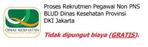 Lowongan Dinas Kesehatan DKI Jakarta