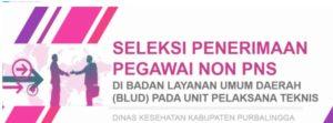 Lowongan DinKes Kabupaten Purbalingga