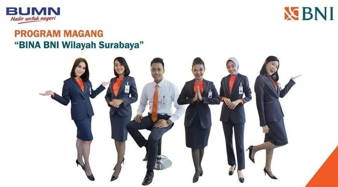 Lowongan Bina Bni Wilayah Surabaya Jawa Timur Pusat Info Lowongan Kerja 2021