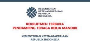 Rekrutmen Tenaga Kerja Sukarela Kementerian Ketenagakerjaan