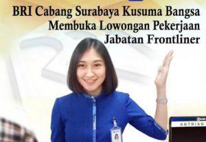 Rekrutmen Bank BRI Surabaya