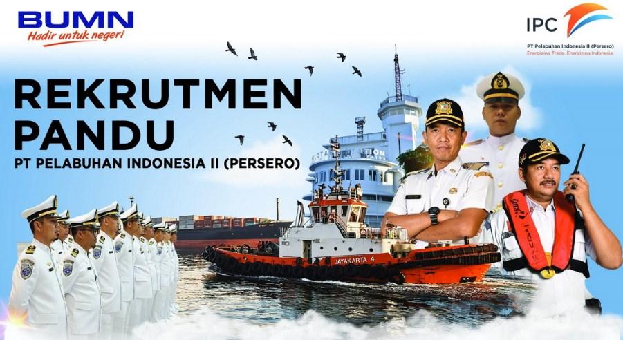 Rekrutmen Calon Pandu PT Pelindo II