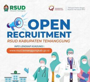 Rekrutmen RSUD Temanggung