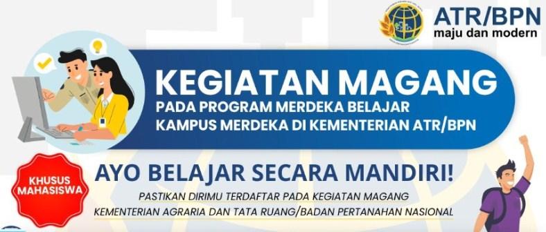 Rekrutmen Magang Kementerian ATR