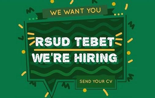 Rekrutmen RSUD Tebet